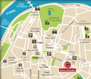 Plan Avignon Bonneterie Programme Malraux