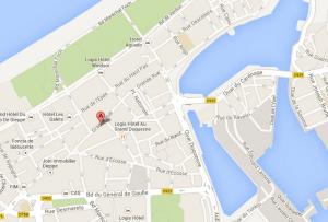 Plan Dieppe 99 Grande Rue