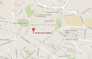 Maps Malraux Montpellier Guilhem