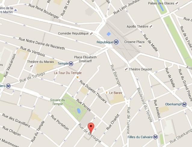 Loi Malraux Rue de bretagne