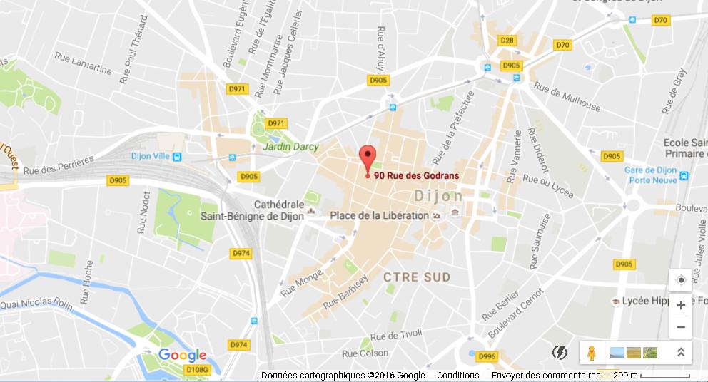 Emplacement Programme Malraux Dijon