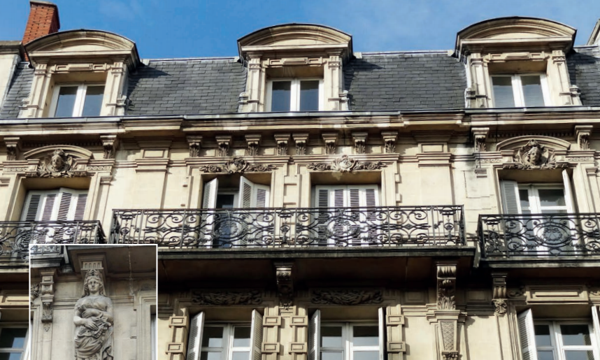 Immeuble Malraux à Dijon Godrans