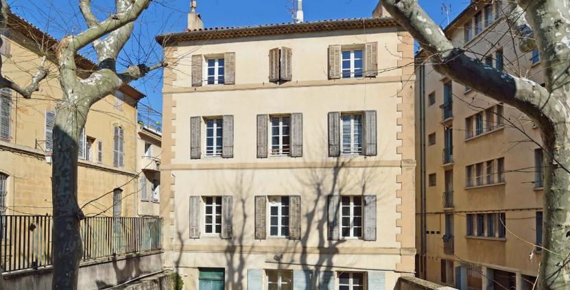 Programme Loi Malraux Aix en Provence - Facade