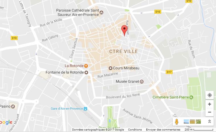 Programme Loi Malraux Aix en Provence - Plan