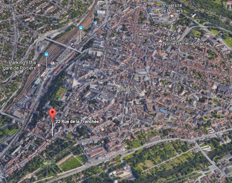 Satellite Poitiers Malraux